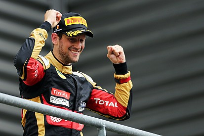 """Grosjean: Passing Vettel """"would have been difficult"""""""