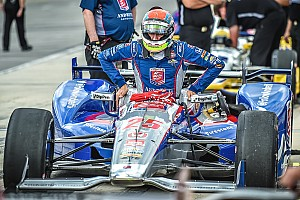 IndyCar Breaking news Wilson airlifted to hospital after helmet strikes debris