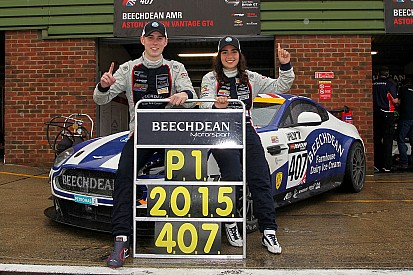 Chadwick delighted to become first female British GT title holder