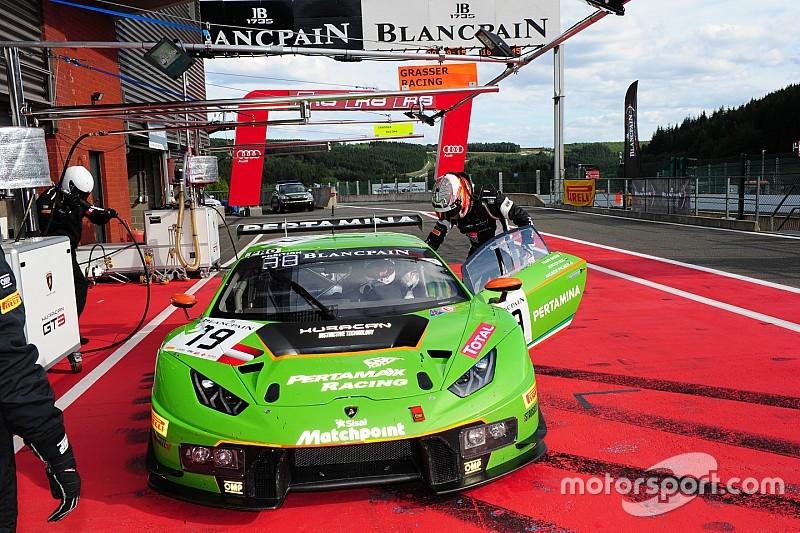 Quatre mois plus tard, Lamborghini récupère sa victoire de Monza
