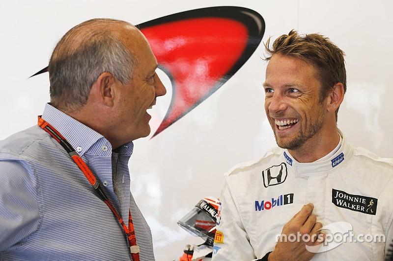 """Button - """"Un podium? C'est improbable"""""""