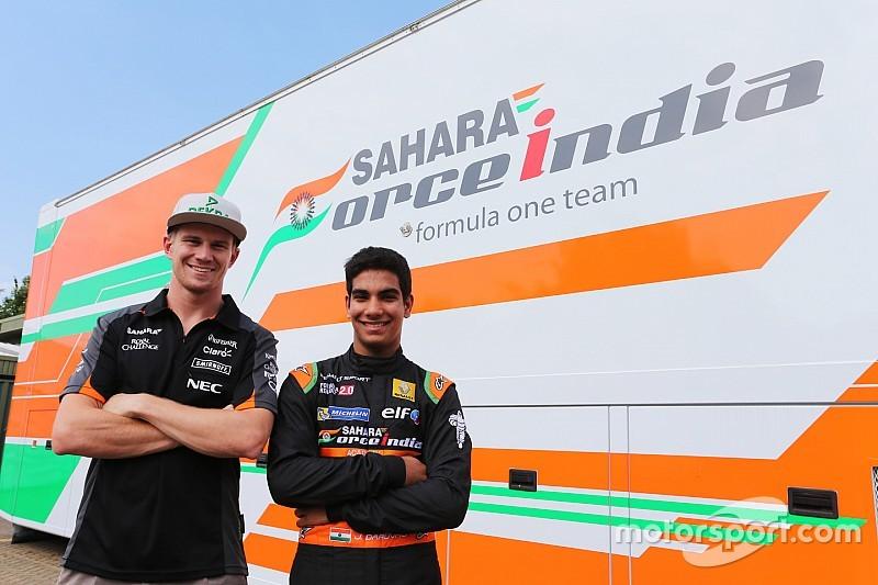 Force India's 'One in a Billion' Daruvala eyes F1 future
