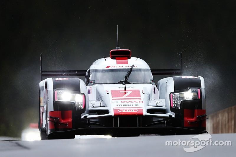 Nurburgring WEC: Audi on top in damp first practice