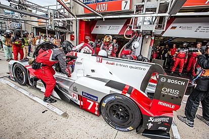 Nurburgring, libere 1: Lotterer al comando