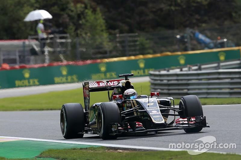 Grosjean - Monza convient mieux à la Lotus que Spa
