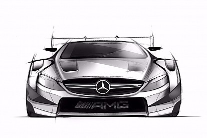 Mercedes reveal drawings of 2016 DTM challenger