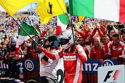 Un première en rouge devant les Tifosi pour Vettel