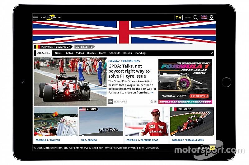 Motorsport.com lança plataforma digital no Reino Unido