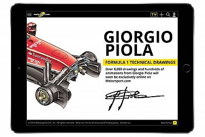 Motorsport.com acquisisce l'archivio tecnico di Giorgio Piola