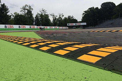 Chicanes de Monza - Les pilotes clairement avertis par la FIA