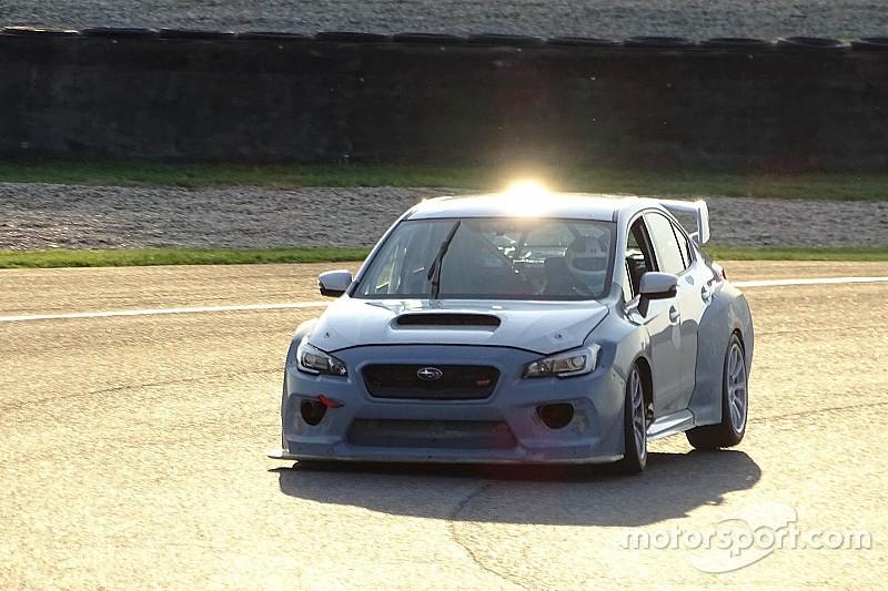 Premiers tests pour la Subaru WRX STi TCR