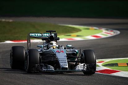 """Monza, Libere 1: Mercedes in fuga con il """"motorone"""""""
