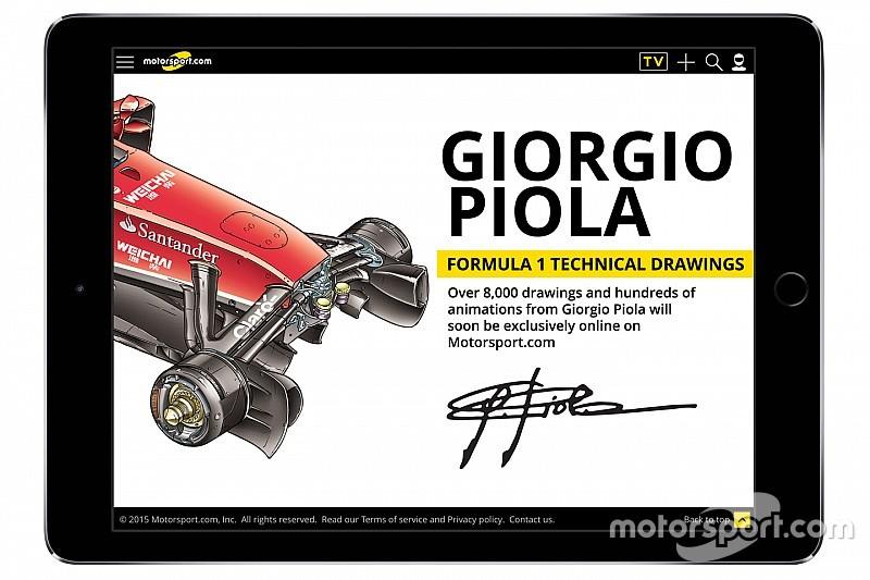 موتورسبورت.كوم يستحوذ على أرشيف الفورمولا 1 التقني لجيورجيو بيولا
