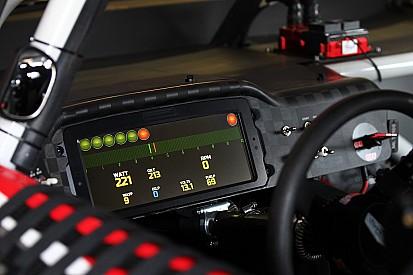 Kurt Busch first driver to run new digital dashboard