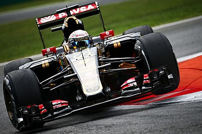 Lotus opened the Italian GP weekend with strong top-ten times