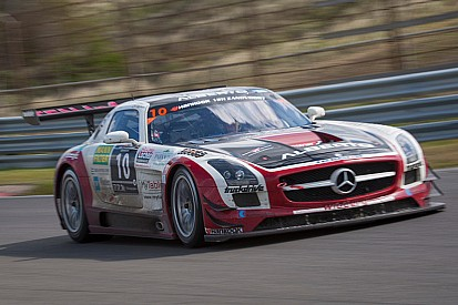 Renger van der Zande puts his Mercedes-Benz on pole for the 24H Barcelona Trofeu Fermi Vélez