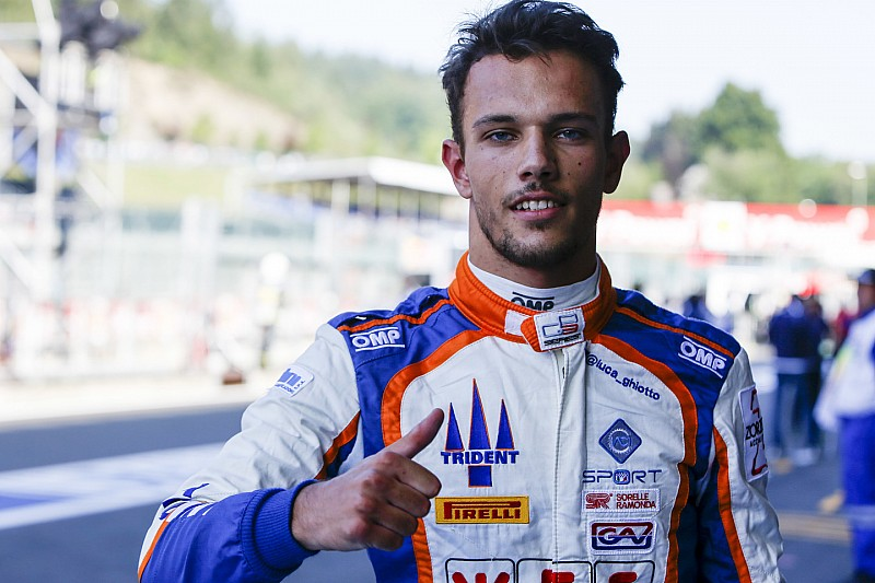 Monza GP3: Ghiotto storms to pole in a damp qualifying