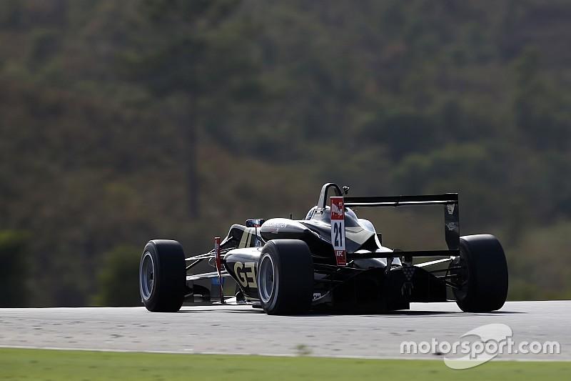 Albon exclusion hands Rosenqvist race 2 pole