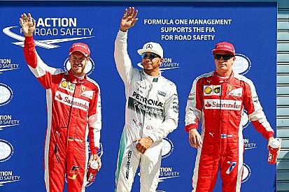 GP d'Italie - La grille de départ