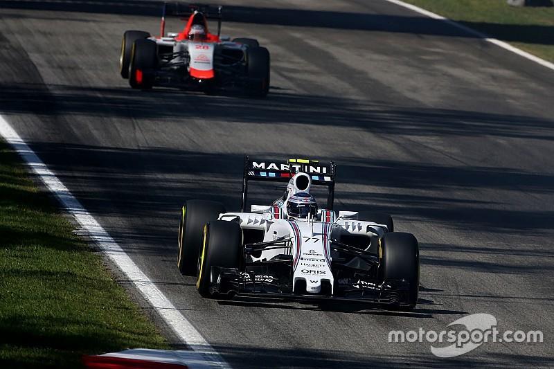 Williams garde un infime espoir de podium