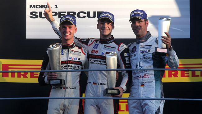 Muller-Cairoli, doppietta degli Junior Porsche a Monza