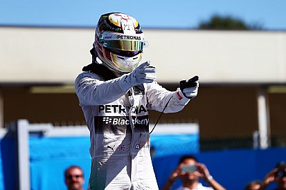 Italian GP: Seven up for Hamilton, Rosberg blows up
