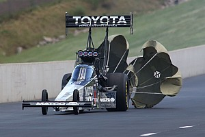 NHRA Qualifying report Brown claims $100,000 win in Traxxas nitro shootout