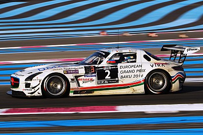 HP Racing Mercedes wins the 2015 24H Barcelona