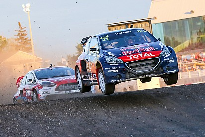 Hansen wins Loheac RX for Peugeot at manufacturer's home race