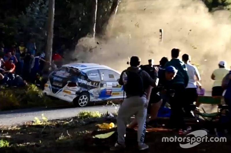 حادث مروّع في رالي بإسبانيا يوقع ست ضحايا