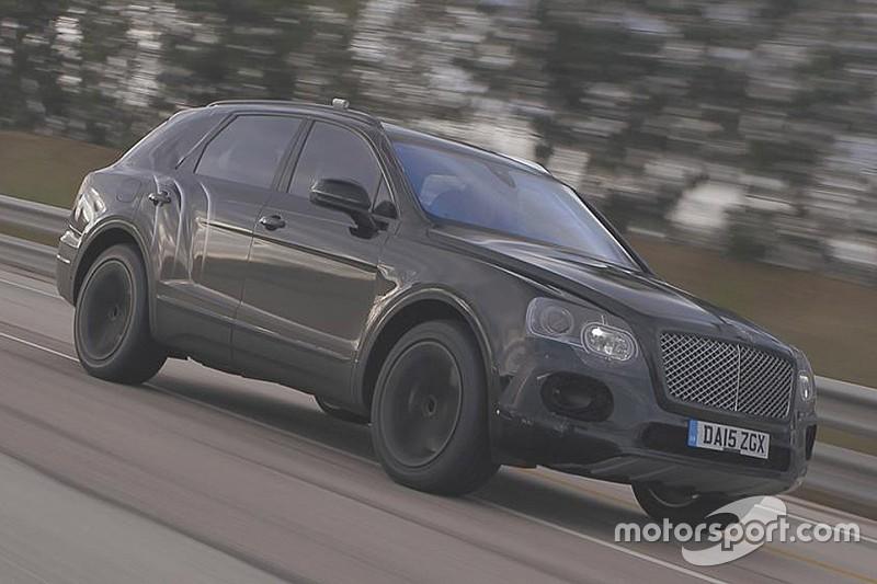 Vidéo - 301 km/h pour le nouveau SUV Bentley Bentayga!