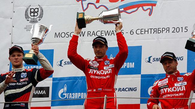 Dudukalo Campione in Russian Circuit Racing Series