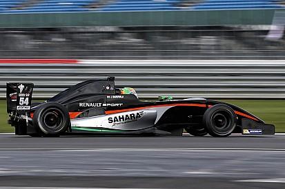 Daruvala fine after crash at Silverstone