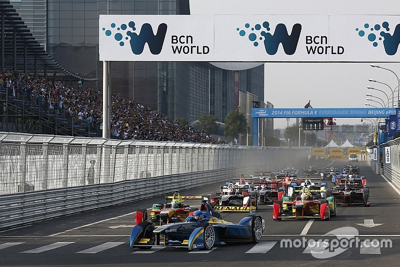 Beijing Formula E opener pushed back