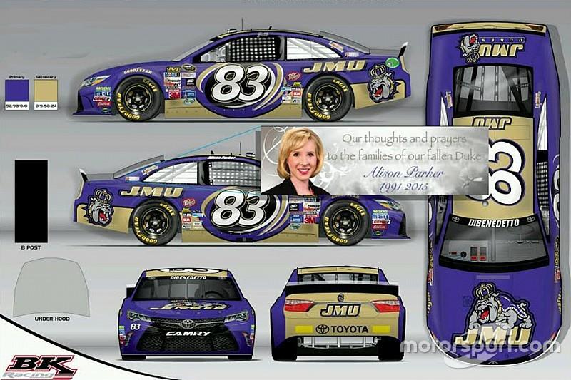 BK Racing remembers Alison Parker