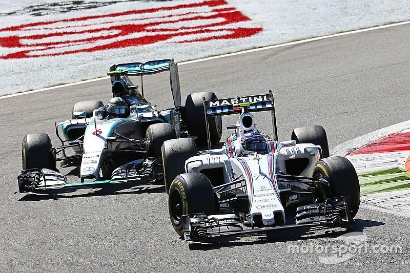 Williams - Il nous manque 1% de performance pour gagner