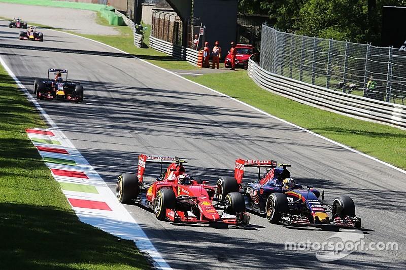 P2, P20, P14 - Le premier tour animé de Räikkönen à Monza