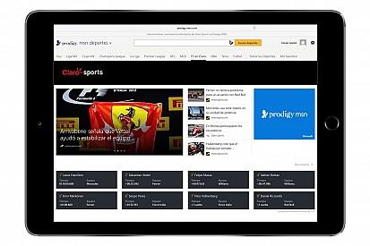 Motorsport.com e Prodigy/MSN anunciam parceria na América Latina