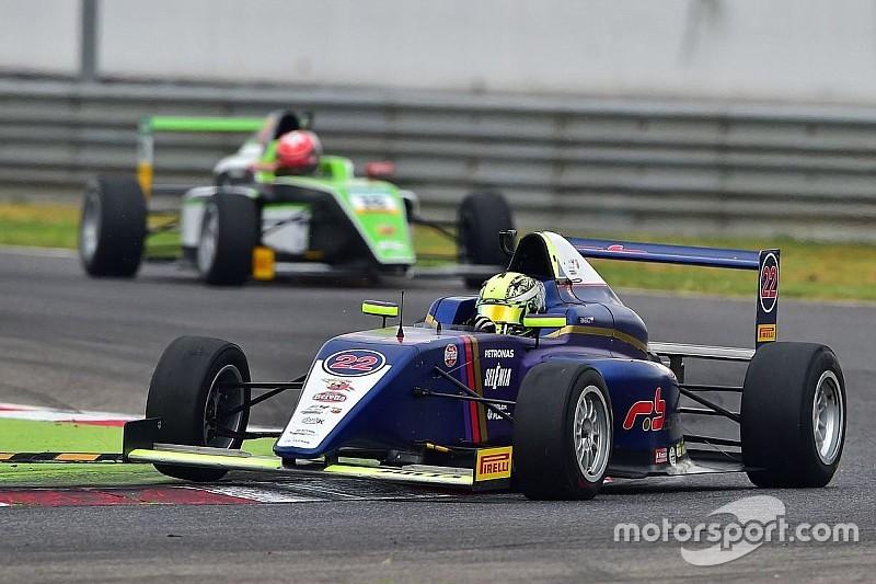 Primo test in Formula 4 per Richard Verschoor