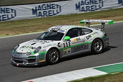 Pole di Maino e Zanardini in GT Cup a Vallelunga