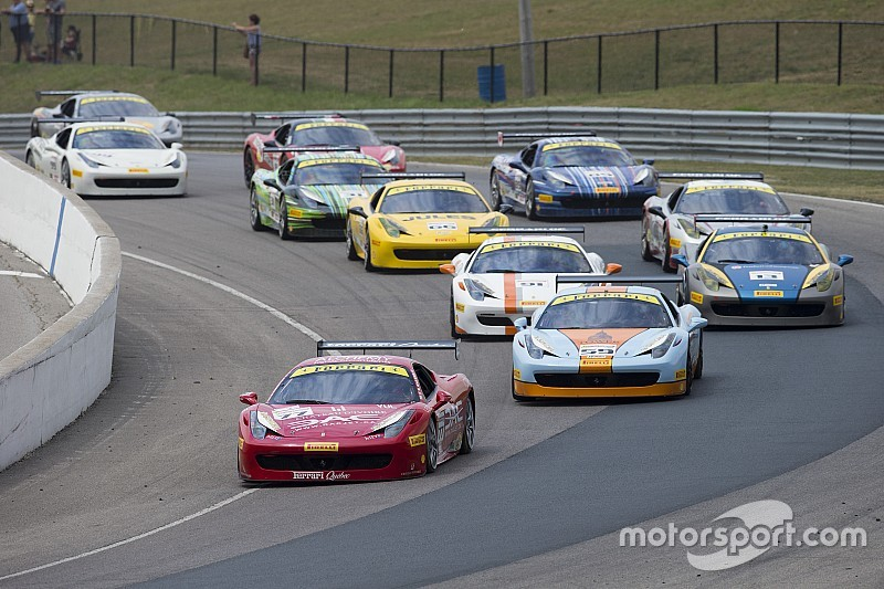 Ferrari Challenge NA – The series returns to the mountains of Mont Tremblant