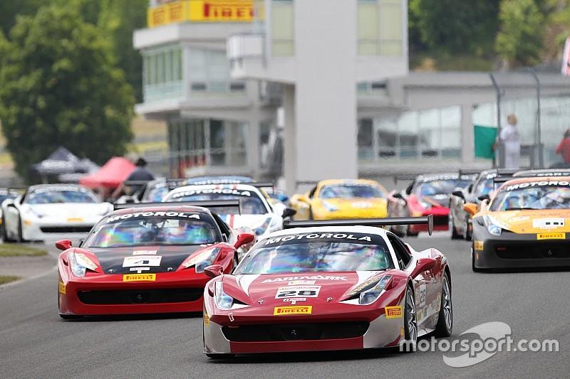 Ferrari Challenge Mont Tremblant weekend results