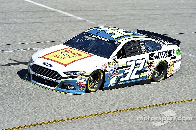 Jeffrey Earnhardt makes the field for Sprint Cup debut