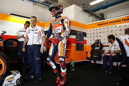 Márquez quería la pole position