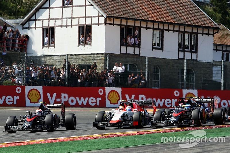 Hamilton - Quand je vois les McLaren avec les Manor, je me sens mal