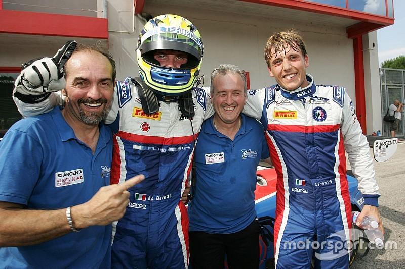 Frassineti-Beretta centrano la vittoria in gara 2