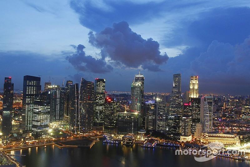 Les organisateurs du GP de Singapour surveillent le niveau de pollution
