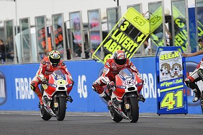 Dovizioso et Iannone assument leur faute après un GP décevant
