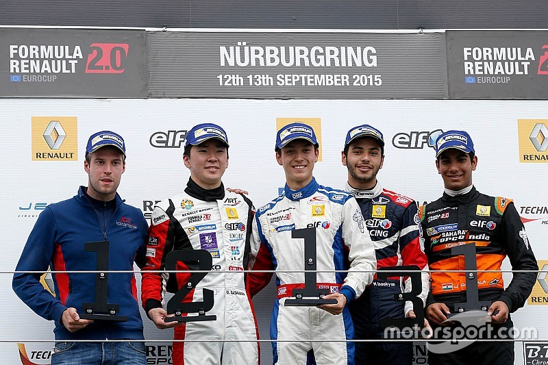First rookie trophy for Daruvala in Eurocup