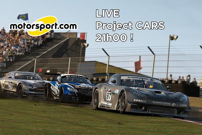 LIVE Vidéo - Notre soirée en direct sur Project CARS dès 21h!
